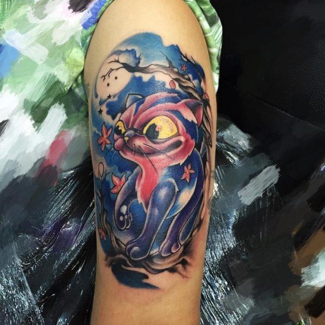 Cat tattoo 211