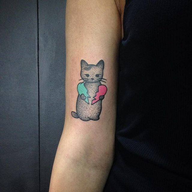Cat tattoo 221