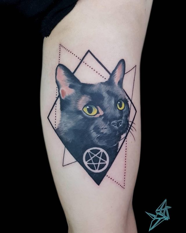 Cat tattoo 33
