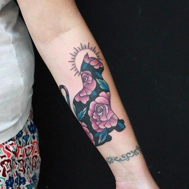 Cat tattoo 41