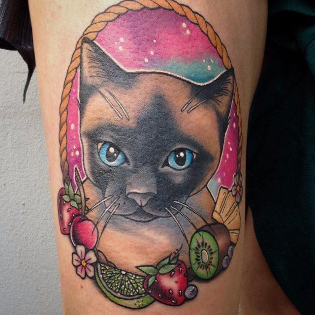 Cat tattoo 81