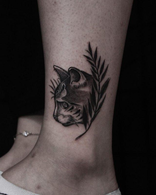 Cat tattoo 86