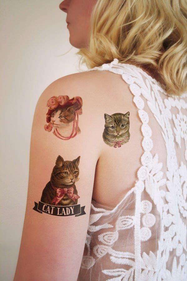 Cat tattoo designs 11041627