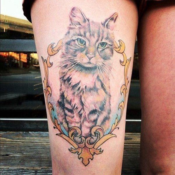 Cat tattoo designs 11041639
