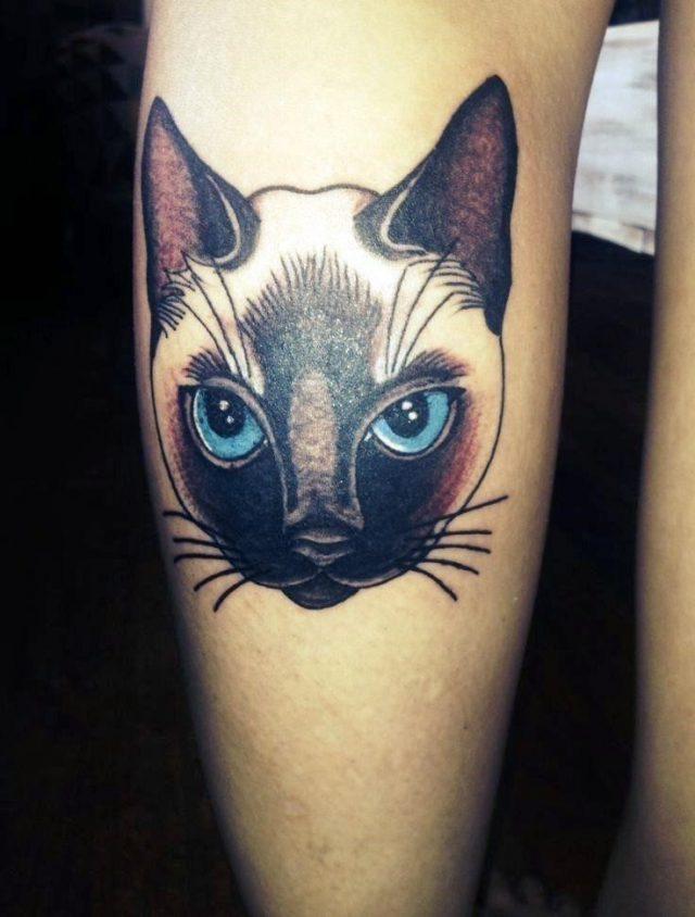 Cat tattoos for women ideas