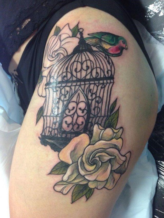 Ccfc954e65dc675827d52ce4ad5f8f6c  bird cage tattoos bird cages