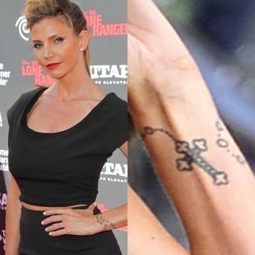 Charisma carpenter rosary wrist tattoo