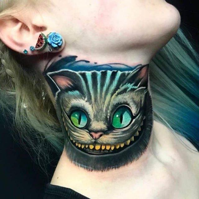 Cheshire cat tattoo 11 800×800