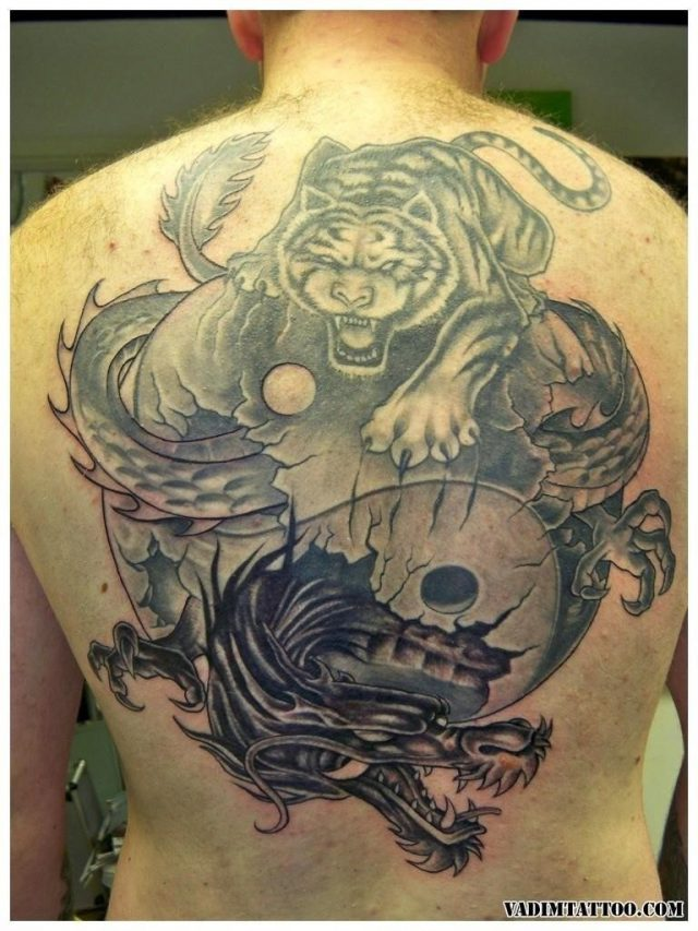Chinese dragon tattoo 18