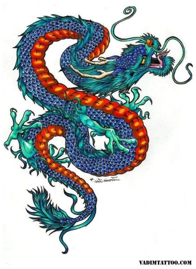 Chinese dragon tattoo 27