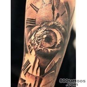 Clock tattoo 2329
