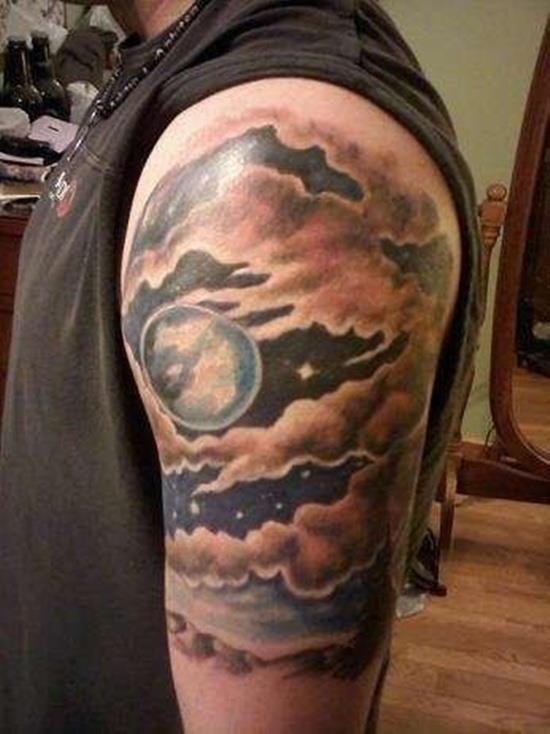 Cloud tattoo 29
