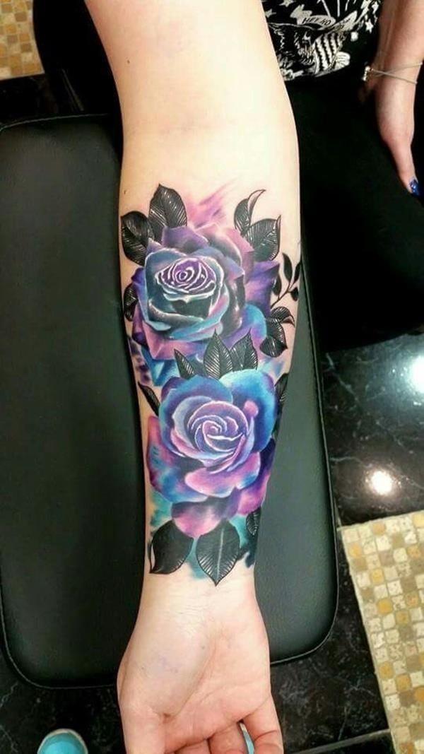 Color tattoo design 1