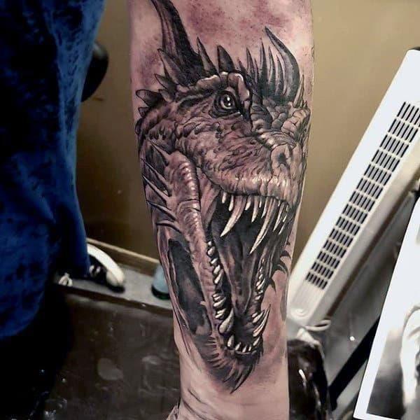 Cool mens dragon tattoos