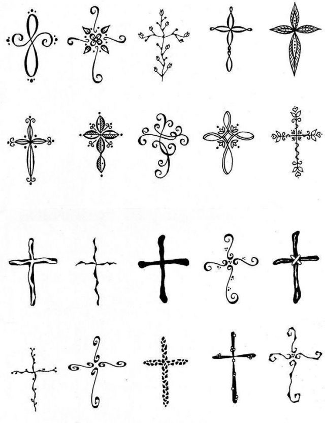 Cross tattoo designs 05