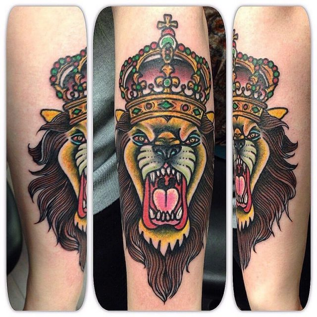 Crown tattoo 1