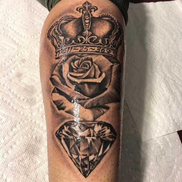 Crown tattoo 15101878