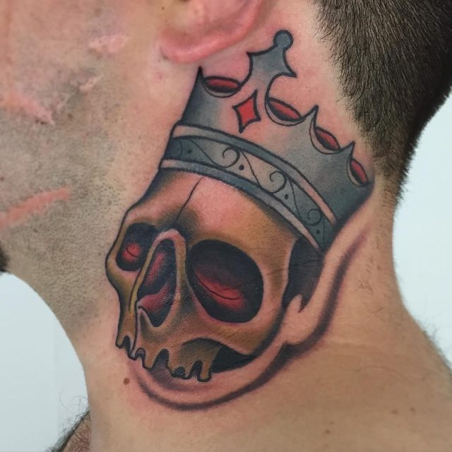 Crown tattoo 18