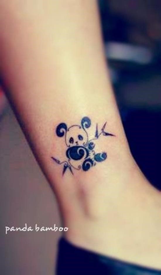 Cute baby animals tattoo 31