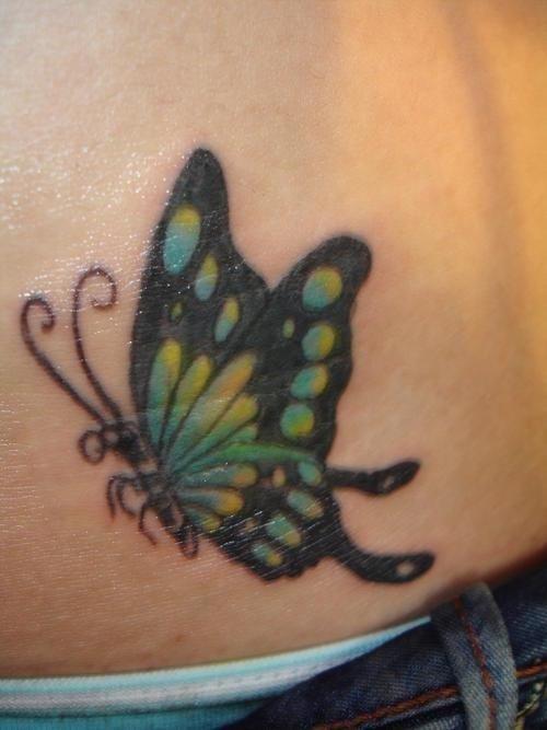 Cute hip tattoo 2