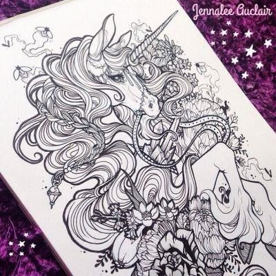 Dd0f94e723d854a080cdec55e9576868  unicorn tattoos unicorn tattoo ideas