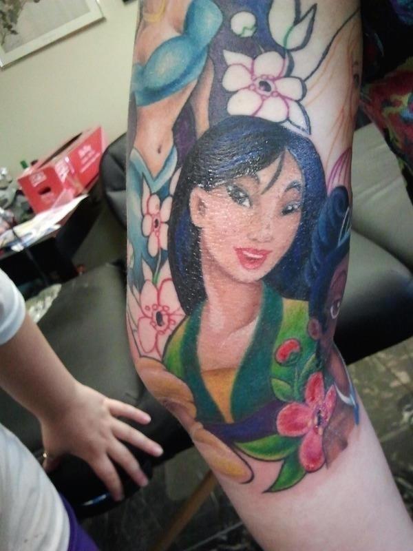 Disney tattoos photos 19