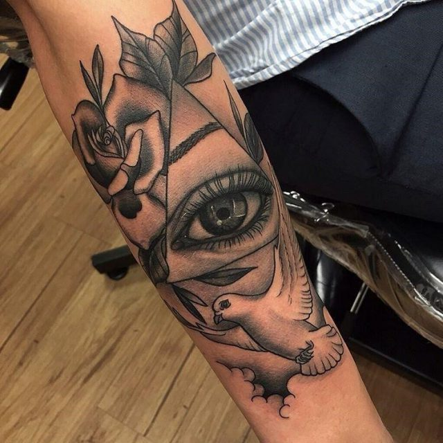 Dove tattoo 29
