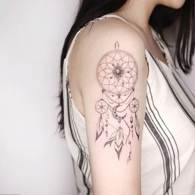 Dream catcher tattoo 126