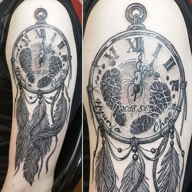 Dream catcher tattoo 18