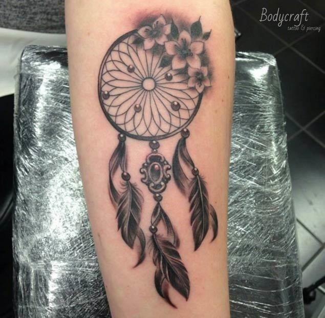 Dream catcher tattoo desgin 32w