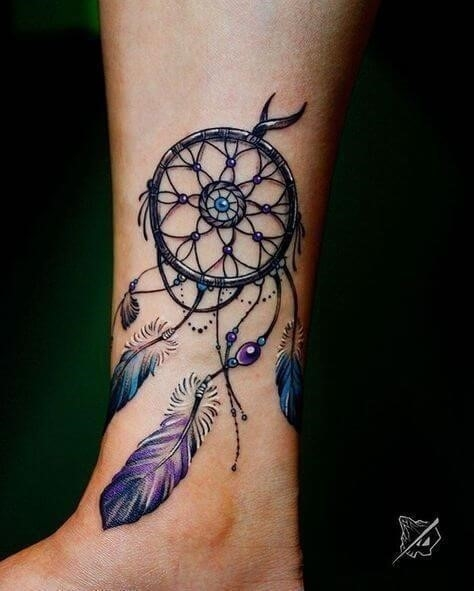 Dream catcher tattoos 03