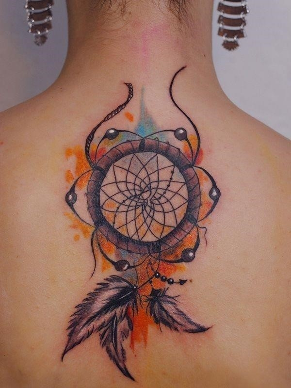 Dreamcatcher tattoo 3