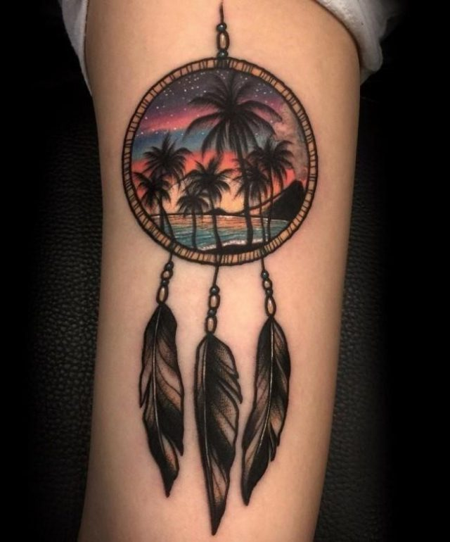 Dreamcatcher tattoo 5 650×782
