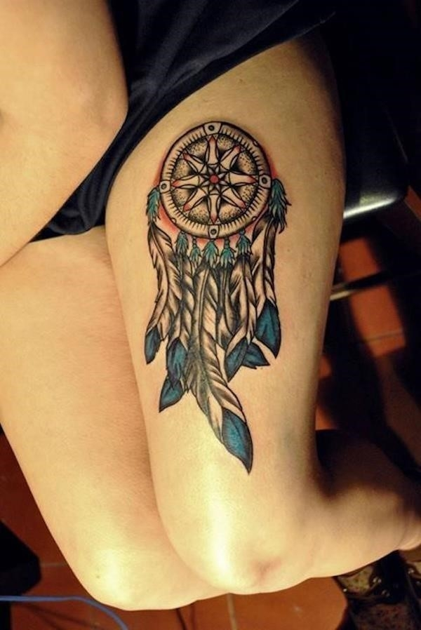 Dreamcatcher tattoos 51