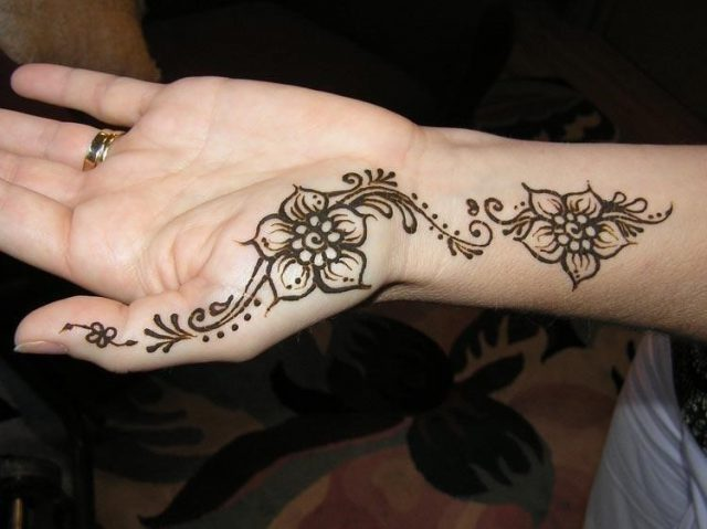 Easy henna designs arabic s y tattoodonkey