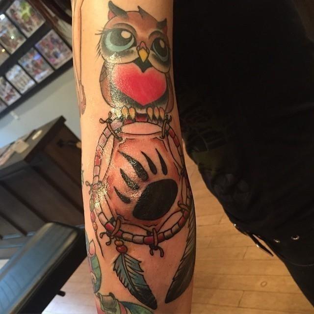 Elbow tattoo 12