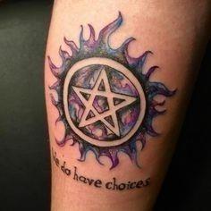 Faafcc79213186abde83f9338e228ae0  supernatural tattoo ideas supernatural symbols