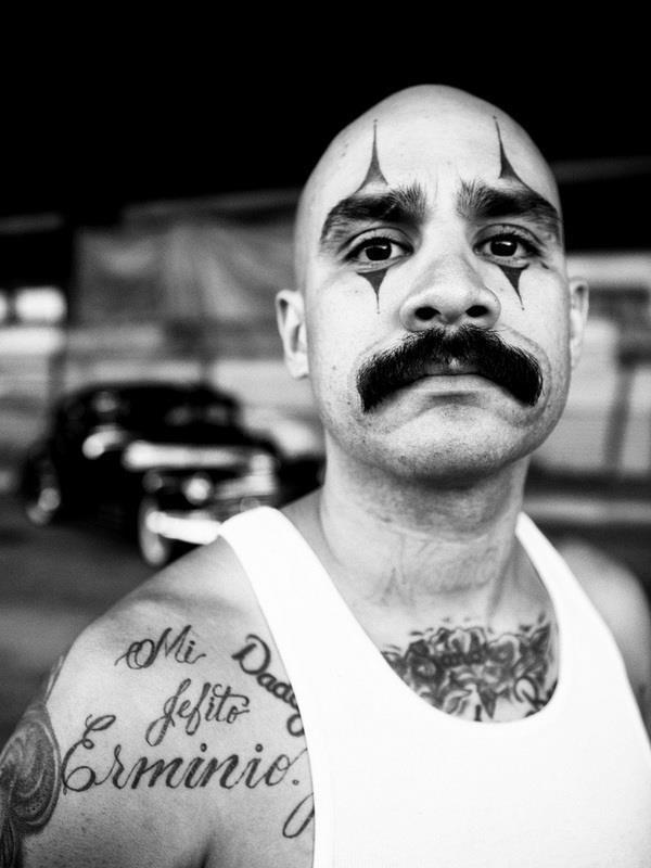 Face tattoo 014