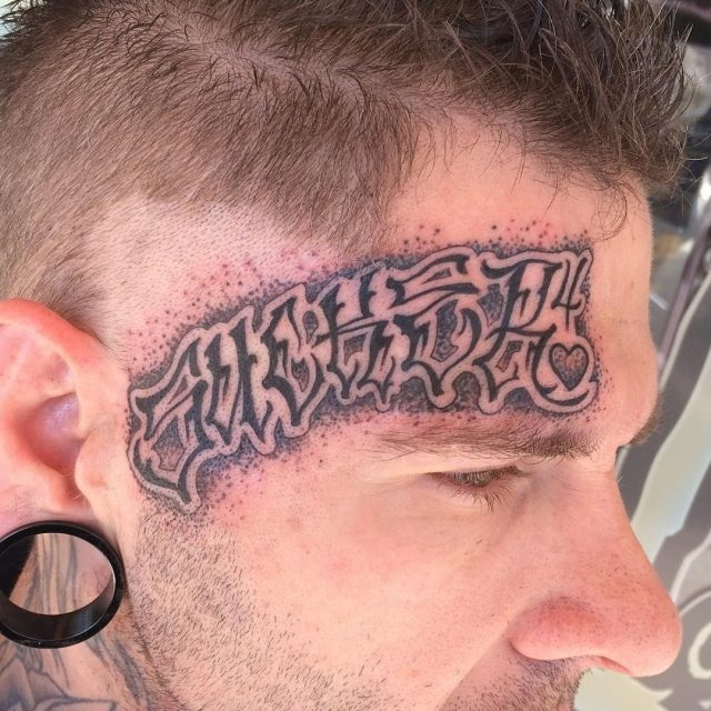 Face tattoo 18