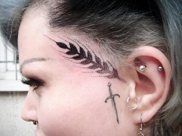 Face tattoo 2