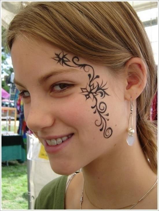 Face tattoo designs 8