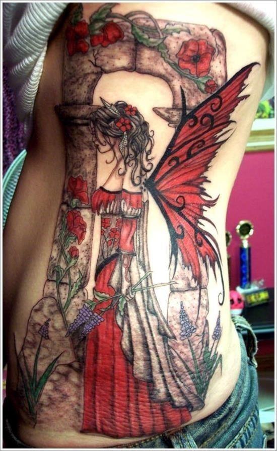Fairy tattoo designs 15