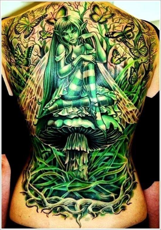 Fairy tattoo designs 32