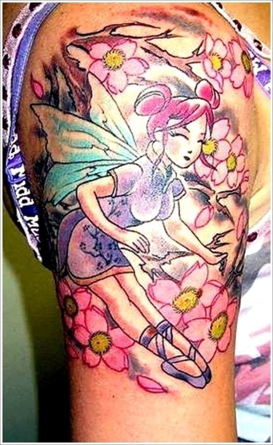 Fairy tattoo designs