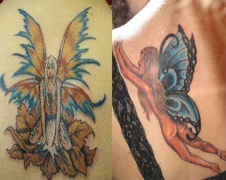 Fairy tattoos 3