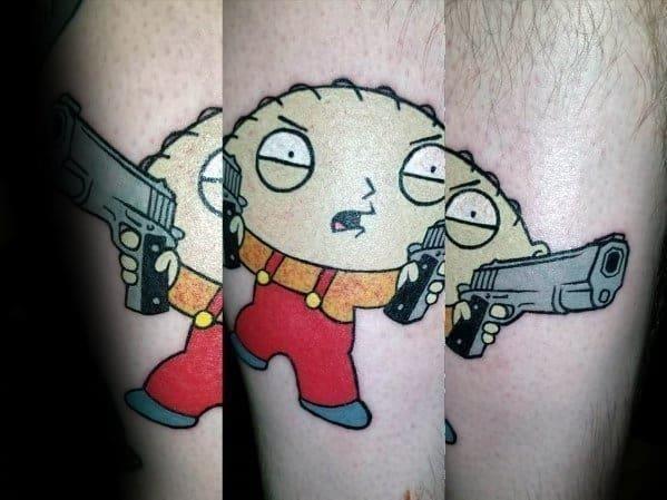 Family guy tattoo designs on men