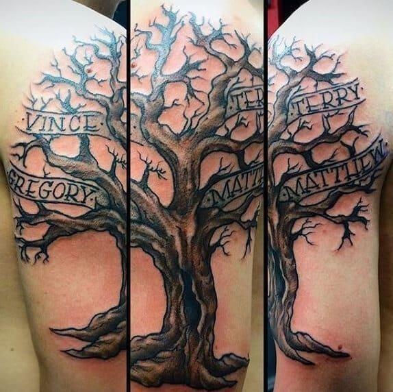 Family tree tattoos 01