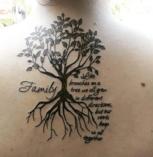 Family tree tattoos 14