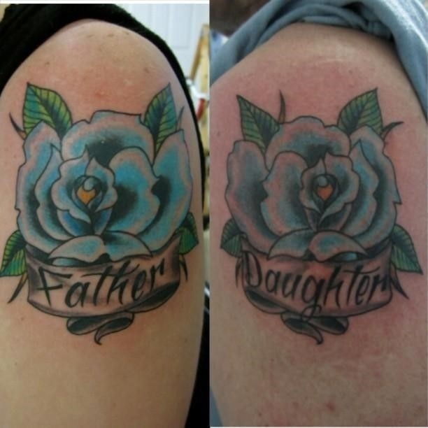 Father daughter tattoos 48