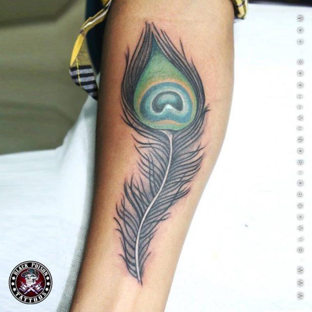 Feather birds tattoos designs ideas 56